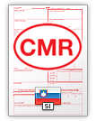 Internationalt fragtbrev CMR (english & slovenščina)