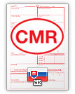 Internationalt fragtbrev CMR (english & slovenčina)